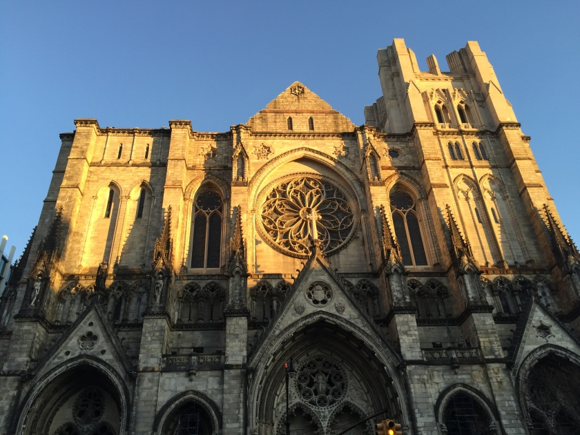 Cathedral of St. John the Divine, from a weekend day trip that included the Cloisters, some really A+ ramen and a long stroll past Columbia and Barnard. Sometimes the perfect light happens, and you get to be grateful that iPhone cameras have come so very far.