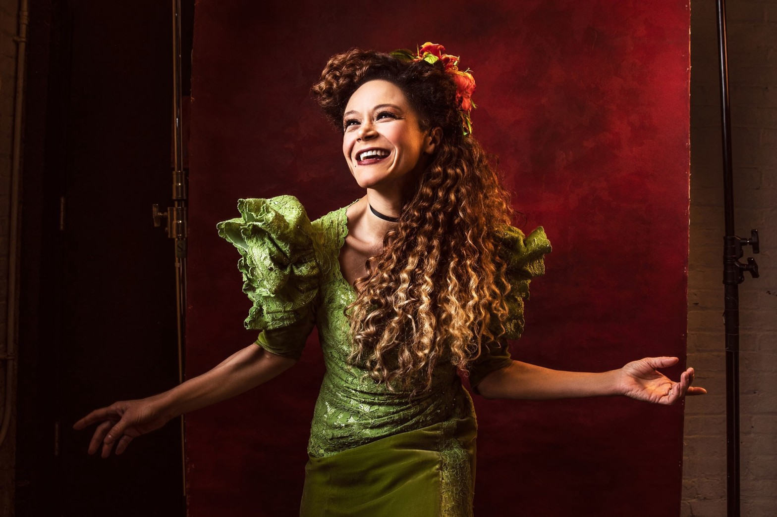 Amber Gray as Persephone in Hadestown (2019)
